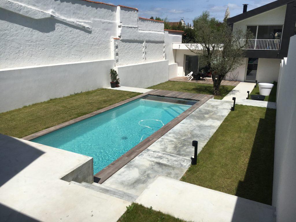 Construction piscine La Rochelle